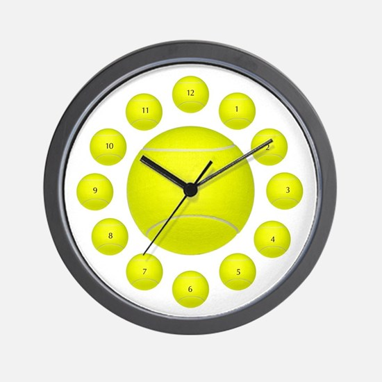 Tennis Ball Wall Clock