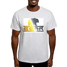 Bear Pride Bear Ash Grey T-Shirt