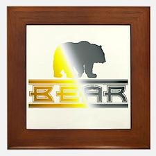 Bear Pride Bear Framed Tile