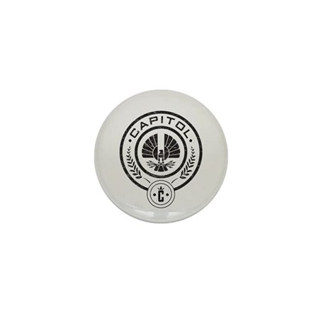 Vintage Hunger Games Capitol Mini Button (10 pack)