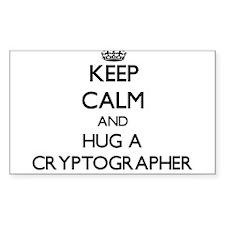 Keep Calm and Hug a Cryptographer Decal