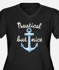 Nautical But Nice Plus Size T-Shirt