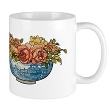Roses in Oriental bowl Mugs