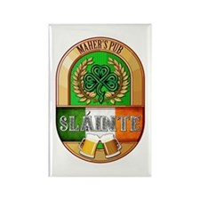 Maher's Irish Pub Rectangle Magnet