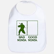 Bad Ninja Good Ninja Bib