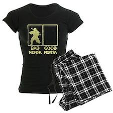 Bad Ninja Good Ninja Pajamas