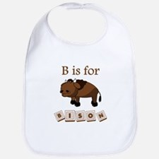 B Is For Bison Bib