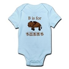 B Is For Bison Body Suit