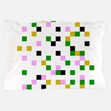 pixel white Pillow Case