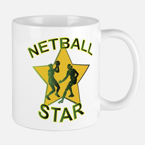 Netball Star Mugs