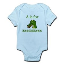 A Is For Alligator Body Suit