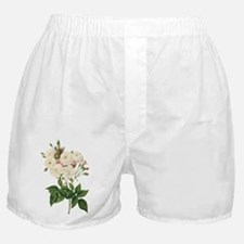 Vintage Blush Noisette Rose Redoute Boxer Shorts