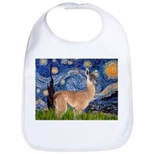 Starry Night Llama Bib