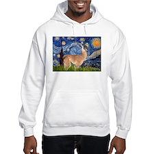 Starry Night Llama Hoodie