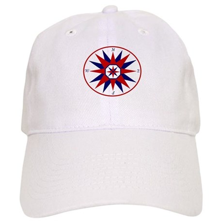Compass Rose Baseball Cap