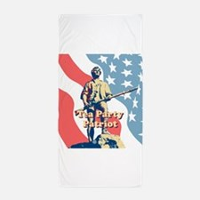 Tea Party Patriot Beach Towel