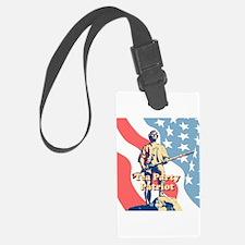 Tea Party Patriot Luggage Tag