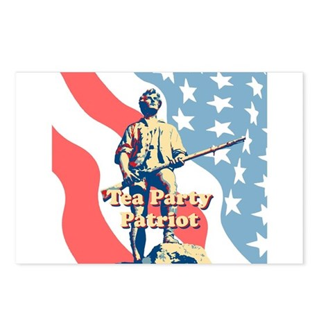Tea Party Patriot Postcards (Package of 8)