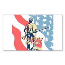 Tea Party Patriot Decal