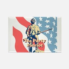 Tea Party Patriot Rectangle Magnet (10 pack)