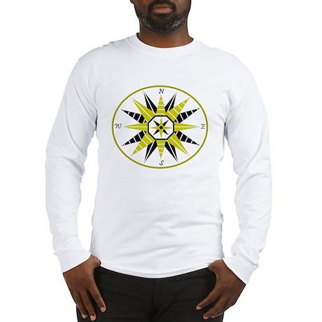 Compass Rose Long Sleeve T-Shirt