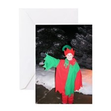 Santa's Elf Joe Greeting Card