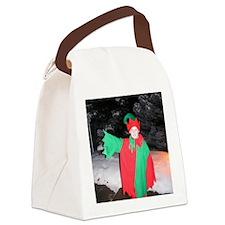 Santa's Elf Joe Canvas Lunch Bag