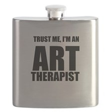 Trust Me, Im An Art Therapist Flask