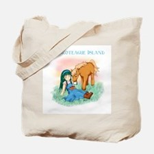 Chincoteague Island Girl Tote Bag