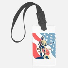 Honor Our Veterans Luggage Tag
