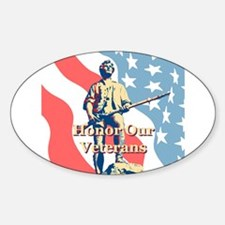 Honor Our Veterans Decal