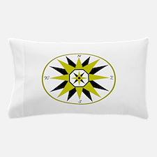 Compass Rose Pillow Case