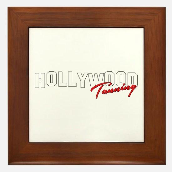 Hollywood Tanning Framed Tile
