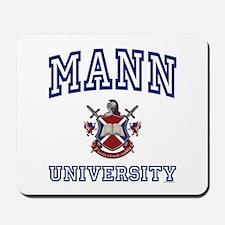 MANN University Mousepad