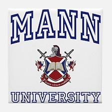 MANN University Tile Coaster