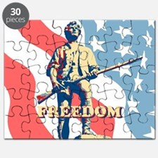 Minute Man Freedom Puzzle