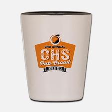2nd Annual OHS Pub Crawl  Shot Glass