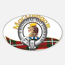 MacGregor Clan Decal