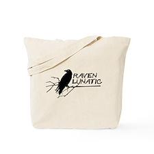 Raven Lunatic - Halloween Tote Bag