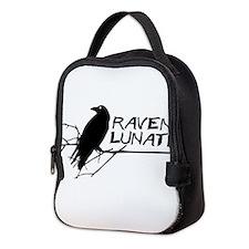Raven Lunatic - Halloween Neoprene Lunch Bag