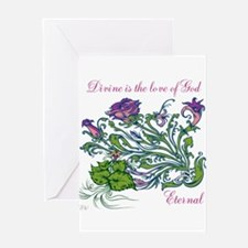 TheEulogyWeb: Divine design #6 Greeting Cards