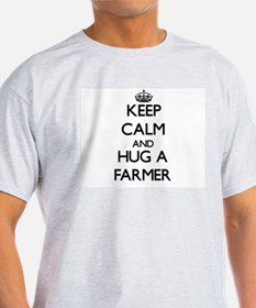 Keep Calm and Hug a Farmer T-Shirt