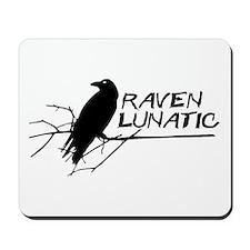 Raven Lunatic - Halloween Mousepad