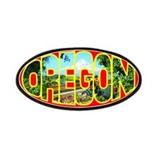 Oregon Scenic Patch - Red