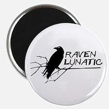 Raven Lunatic - Halloween Magnets