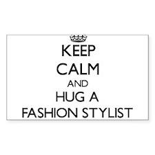 Keep Calm and Hug a Fashion Stylist Decal