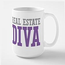 Real Estate DIVA Large Mug