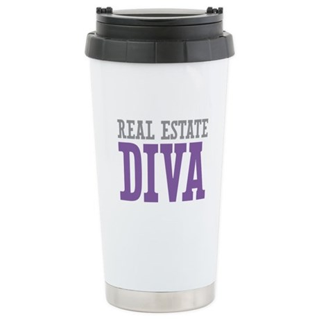 Real Estate DIVA Stainless Steel Travel Mug