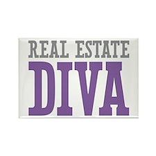 Real Estate DIVA Rectangle Magnet (100 pack)