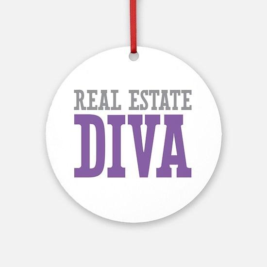 Real Estate DIVA Ornament (Round)